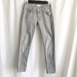 Levi's San Francisco grey skinny jeans